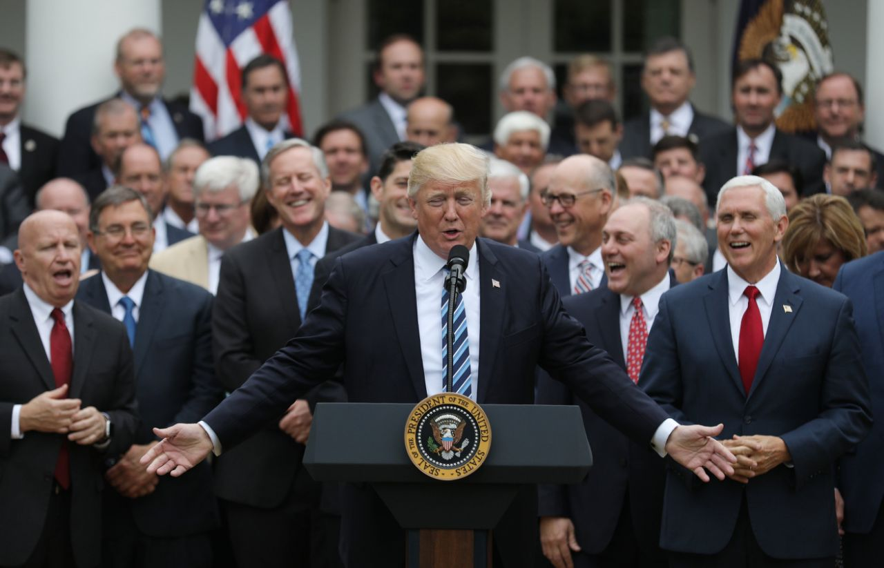 Republicans celebrate House AHCA